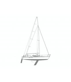 Beneteau first class 8 - navegacion embalse burguillo